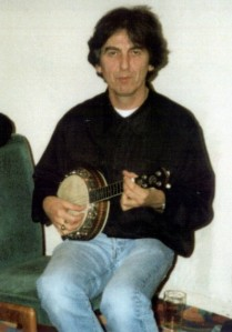 George wondered how long it would be before John and Paul would let him play with a big boys guitar