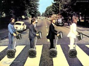 How things might have looked if the Beatles had arrived in a more modern age