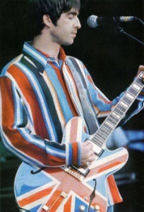 Noel with THAT guitar