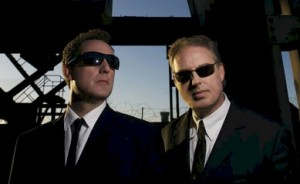 The OMD boys in their audition for the 'Men In Black' movie