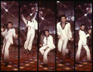"Travolta an excellent dancer who spawned countless poor imitations every time ""Night Fever"" gets played"