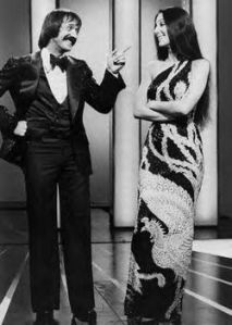 Sonny with his second wife Cher