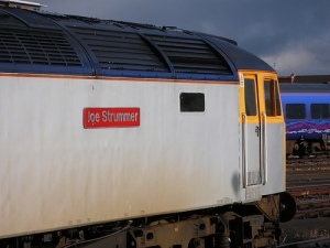 A train named after Joe Strummer - how cool is that?