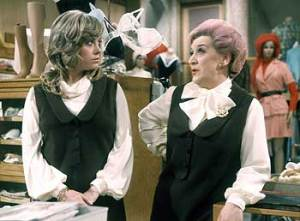 presumably Wendy and Molly were discussing Mrs Slocombe's pussy ;-)