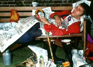 Ian was never happy when he was in the papers, unless of course he was sleeping