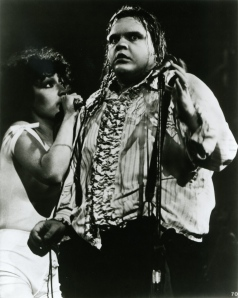 From the look of it Meat Loaf should have taken Claude's anti perspirant advice