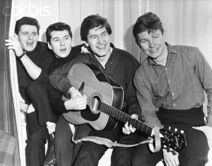 Before their initial success the boys had to share one guitar