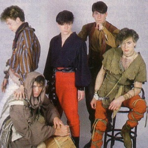 The Spandau boys had once again raided their Mum's wardrobes for stage clothes