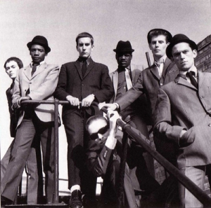 The Specials during their pole dancing period. The boys hadn't realised that it was supposed to be just one person at a time on the pole!