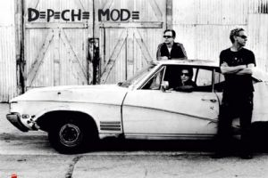 The Depeche boys swore that the first thing they would buy when this months royalty cheque arrived would be a new car