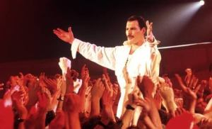 Freddie loved to lord it over all those who were shorter than he was, which was basically..........everybody!