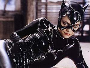 Catwoman, probably not the best seamstress in the world judging by this outfit!