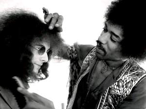 Jimi prepares to 'kiss this guy'!  ;-)