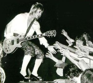 Mick Ronson - gone but never forgotten