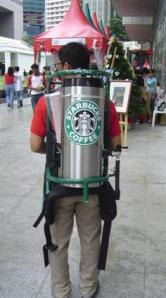 With the proceeds of the single the band bought the worlds first Starbucks Jet Pack