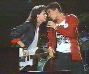 Andy Taylor and Simon LeBon argue over which one of them was the most crap at Live Aid