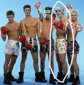 See I always said that Robbie and the boys were just pants!