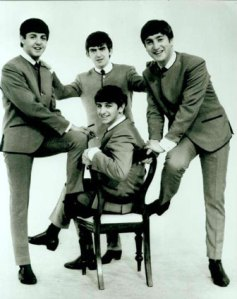In their early days the moptops were so poor that they could only afford one seat between them