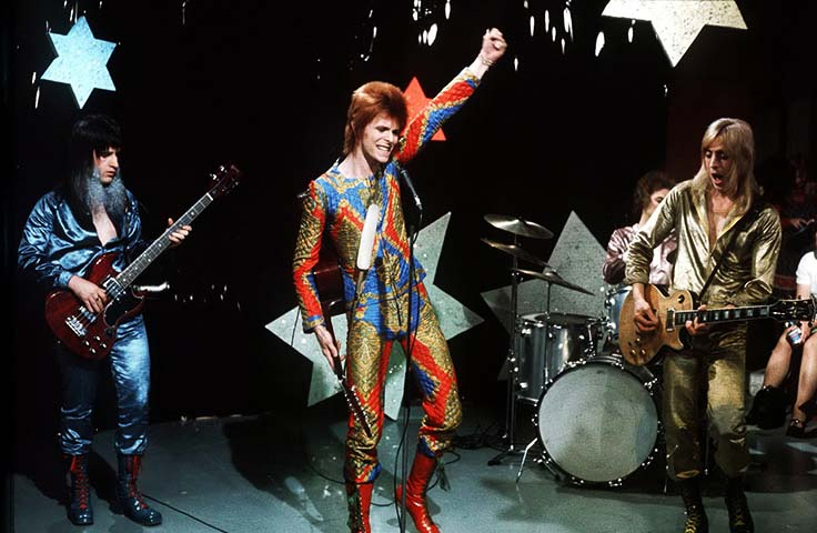Ziggy stardust and the spiders from mars  википедия