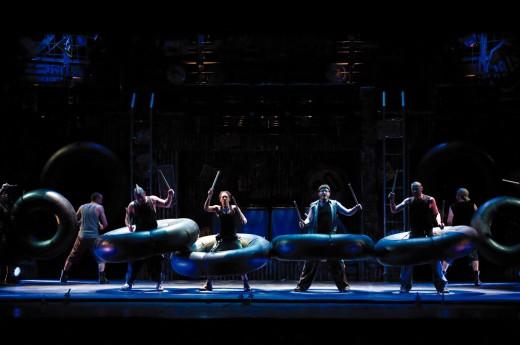 Stomp - The Musical - Alhambra Theatre Bradford Saturday 25th February 2012 (2/4)