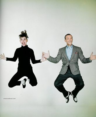 However much he took, Fred could never get as high as Audrey Hepburn
