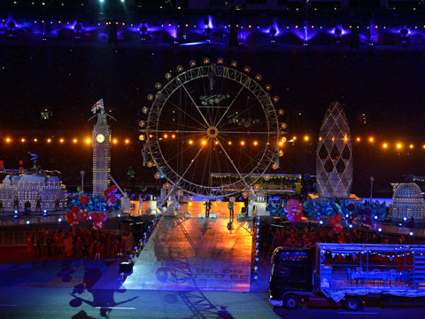 London 2012 - The Olympics Closing Ceremony (1/6)