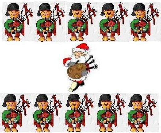 11 Pipers