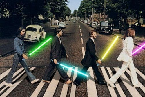 beatles-with-lightsabers