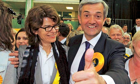 Vicky Pryce and Chris Huhne in 2010