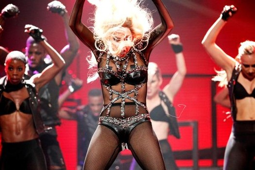 Gaga had quite a complex athletic support following her hip operation