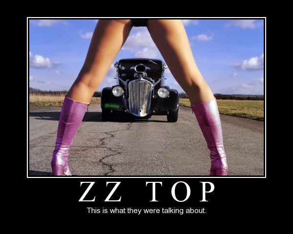 zz top legs girl