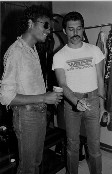 Michael+Jackson++Freddie+Mercury+FreddieMichael