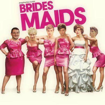1D bridesmaids