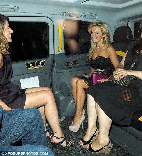 Geri spends all the profits from the sales of her new single on a cab ride across the road