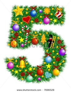 stock-vector-number-christmas-tree-decoration-part-of-a-full-set-vector-7696528
