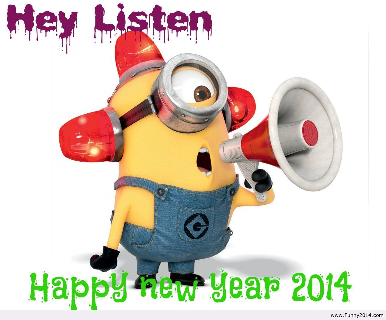 New years day with just a hint of mayhem - Minions funny images ...