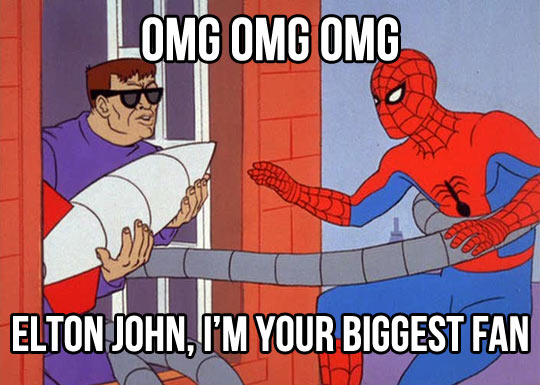 funny-Spider-Man-Elton-John-biggest-fan