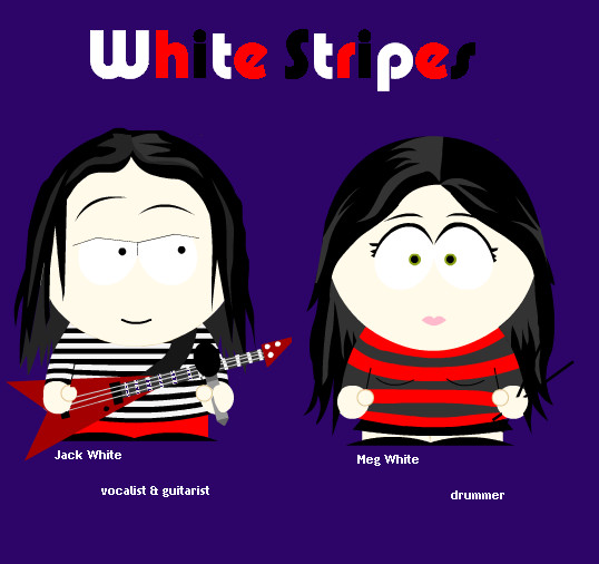 White_Stripes_in_South_Park_by_FunnyLittleBunny