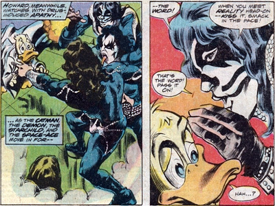 kiss and howard the duck