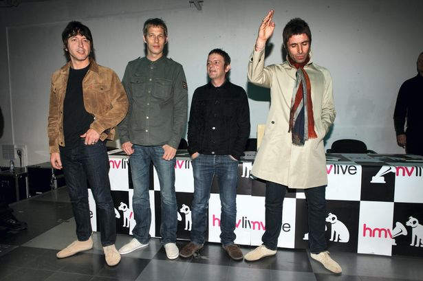 Liam waves goodbye to Beady Eye. Is that a Beady Bye then?