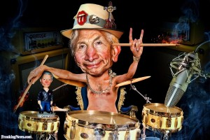 Charlie-Watts-Playing-the-Drums-Caricature-114781