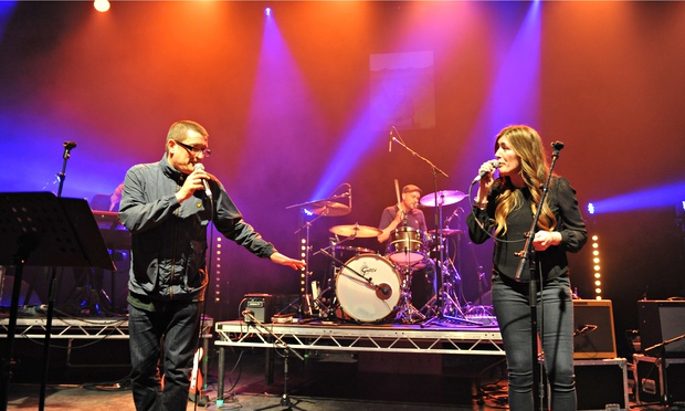Paul Heaton and Jacqui Abbott at the Shepherds Bush Empire