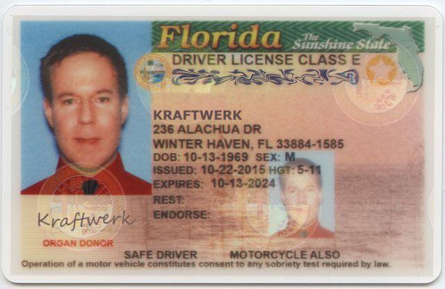 Kraftwerk's Driving Licence