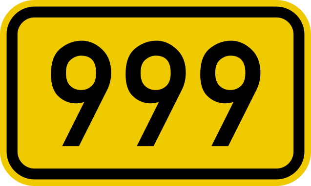 bundesstrase_999_number-svg