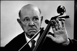 SWITZERLAND. 1960. During Master Class. Spanish cellist Pablo CASALS.